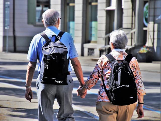 Promenades avec les personnes âgées